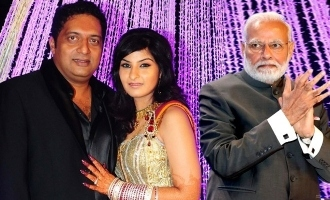 Prakashraj's wife takes a dig at Modi!