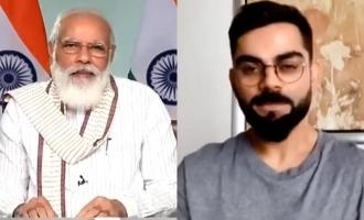 PM Modi chole na business joke discussion with kohli