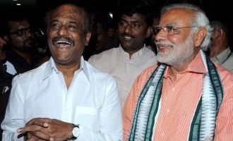 Superstar Rajinikanth hails Modi as a super power