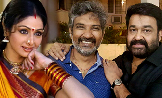 Mohanlal and Sridevi to team up for Rajamouli's next?