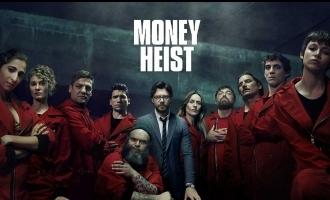 Money Heist - Robbers in red are back.