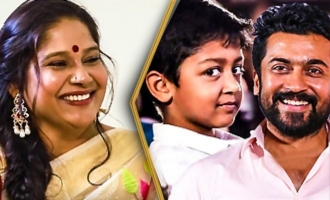 Suriya's Son Got Scared and Ran Away From Me : Mounika Interview