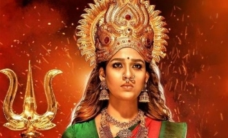 Goddess vs fake godmen - Lady Superstar Nayanthara's 'Mookuthi Amman' trailer is here