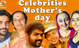Celebrities Celebrate Mom on Mother's Day