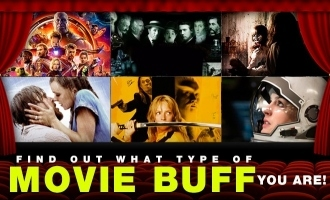 Find out what type of movie buff you are!