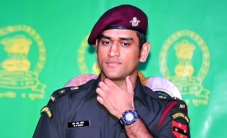 What is Dhoni's role in the Indian Army?