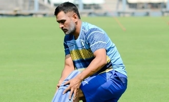 M.S.Dhoni undergoes COVID 19 test
