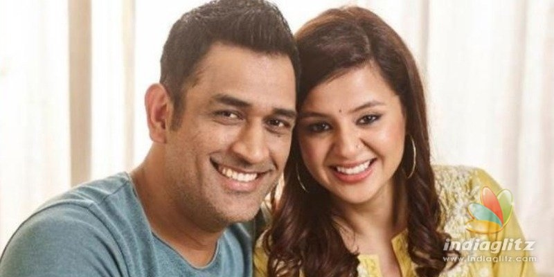M.S. Dhoni shares cute troll video of wife Sakshi