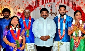 M.S. Bhaskar's daughter gets engaged