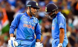 rohit sharma winning world cup for ms dhoni