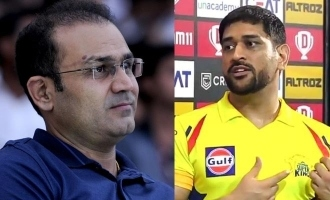 virender sehwag rates ms dhoni captaincy 4 out of 10 in match between csk and rr looked like he wasnt even trying