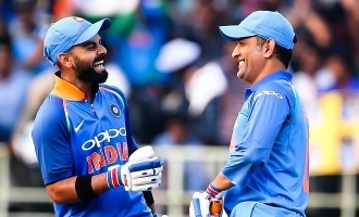 Kohli's Love and Respect for Dhoni is 'Sky High'