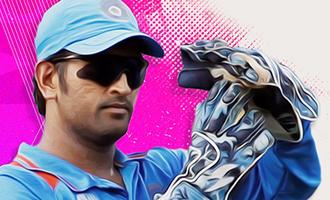Kootathil Oruvan team's tribute to MSDHONI