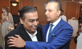 Mukesh Ambani pays 550 Crores to save brother Anil from going to jail