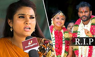 Myna Nandhini's Tearful Interview : Why avoided Husband's Funeral