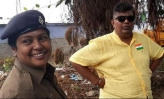 Director Mysskin proud of being honoured by policewoman