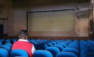 இடிக்கப்படும் பழம்பெரும் தியேட்டர்: பிரபல இயக்குனரின் சோகப்பதிவு