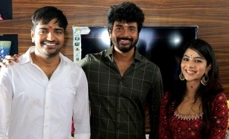 Sathish new movie title with strong Vadivelu connection - Sivakarthikeyan shares poster