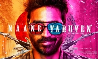 Dhanush-Selvaraghavan's new movie mass title and poster out