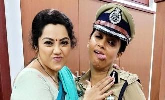 'த்ரிஷ்யம் 2' படத்தில் மீண்டும் இணையும் மீனா-நதியா: வைரல் புகைப்படம்