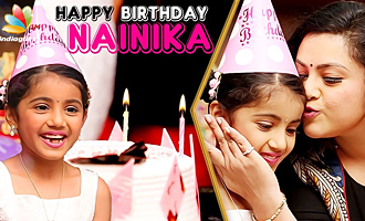 Happy Birthday Theri Baby Nainika ! | Meena Interview & Celebration