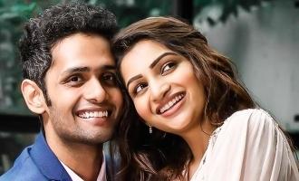 Nakshatra Nagesh's romantic photoshoot with fiance wins hearts!