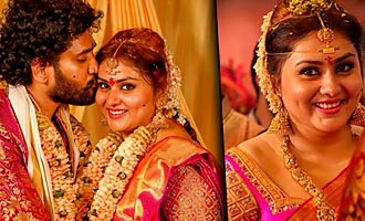Marriage Video : Actress Namitha Weds Veerandra Chowdhary in Tirupati