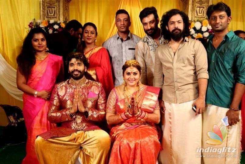 Actress Namitha Entered Wedlock With Her Beauy Veerendra Choudhry In A Hindu Wedding Ceremony Held At The Premises Of Lord Venkateshwara Temple Tirumala