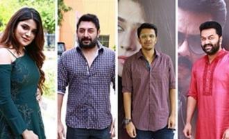 'Naragasooran' Movie Trailer Launch & Press Meet