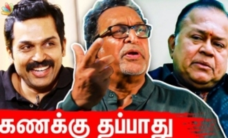 Karthi's accounts will be perfect - Nasser