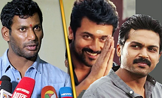 Surya's Big help for Producers problem - Vishal, Nasser Speech