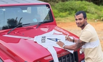 Natarajan thanks Anand Mahindra for SUV gifts signed Gabba Test jersey in return