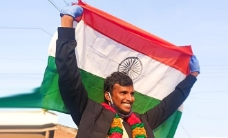 Natarajan gets a grand welcome at native after Australia tour - photos viral!