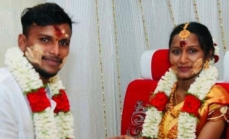 Natarajan wife and daughter photo goes viral in internet