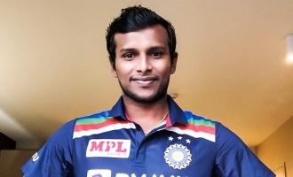 ஒன்டே கிரிக்கெட் போட்டியில் விளையாட இருக்கிறார் தமிழக வீரர் டி.நடராஜன்!!!