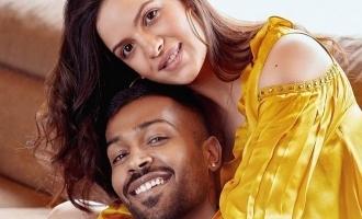 Hardik Pandya's fiancée Natasa shares pictures with newborn baby