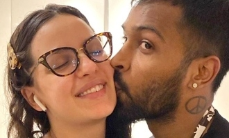 Instagram removes picture of Hardik Pandya kissing fiancée Natasa; she responds