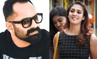 Nayanthara joins Fahadh Faasil in blockbuster director's next!