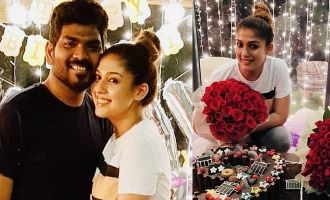Vignesh Shivan melts Nayanthara with grand birthday celebrations