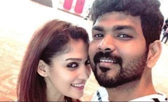 Nayanthara dominates Vignesh Shivn like a boss! watch video