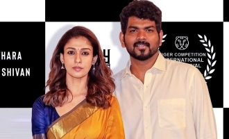 Nayanthara - Vignesh Shivan's traditional look in international film festival turns viral!