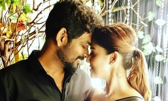 Nayanthara and Vignesh Shivan's romantic picture takes social media by storm