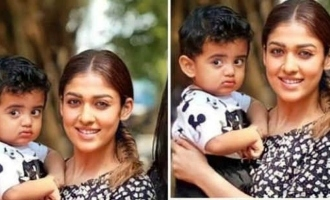 Nayanthara with young hero's kid and family photos go viral