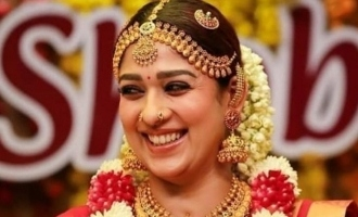 Nayanthara's latest photos in bridal dress stuns fans