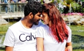 Nayanthara and Vignesh Shivan kiss photo in special place goes viral