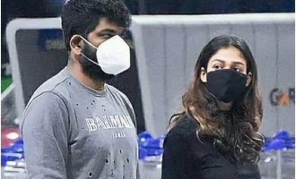 Nayanthara and Vignesh Shivan leave Hyderabad after COVID 19 scare