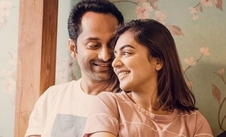 Fahat and Nazriya cute images goes viral in internet