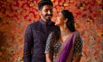Young actress Niharika Konidela gets engaged surrounded by megastar family