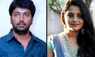 Kalaiyarasan & 'Kidaari' Nikhila pair for Karthi-Vishal director's next
