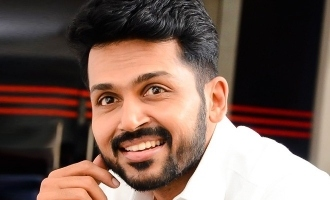 Karthi's heroine works in call center to help Corona relief!